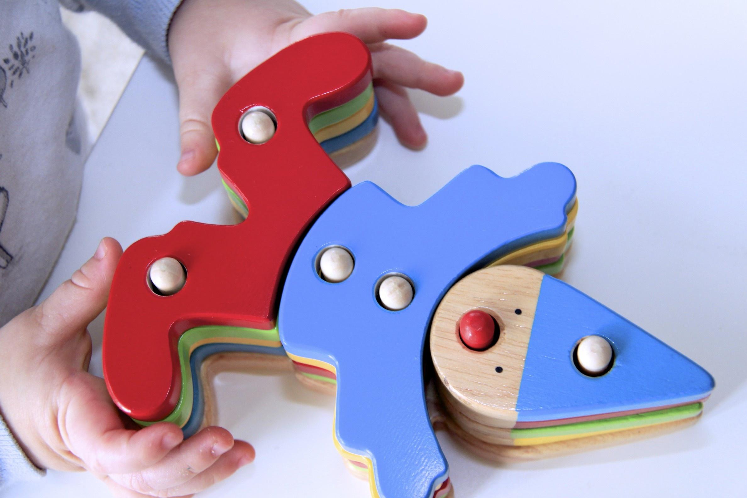 Развивающие игрушки из фанеры