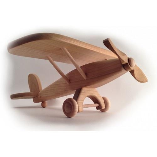 Как сделать самолёт из дерева для детей