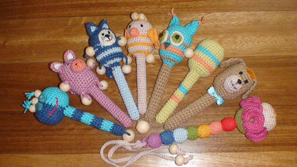 Вязаные крючком игрушки