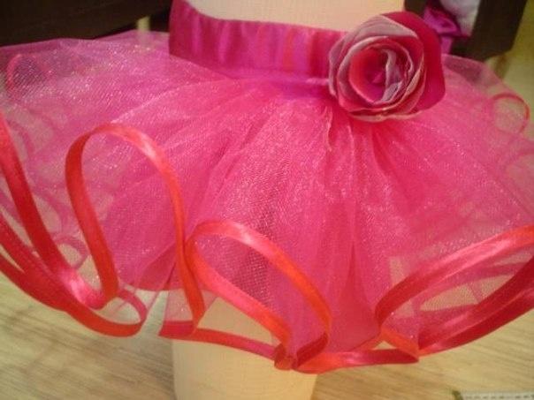 Как сшить фатиновую юбку для девочки