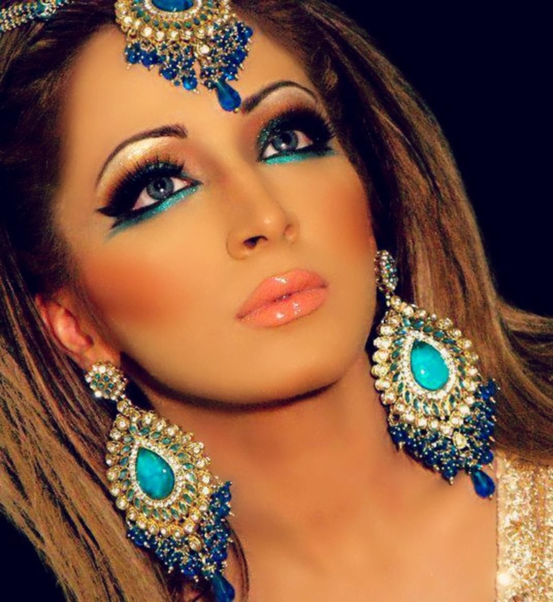 Красивый макияж для выступления