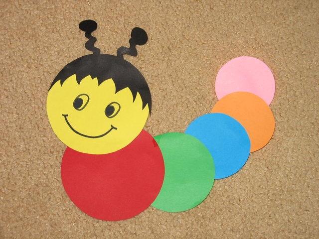 Поделки из разноцветной бумаги