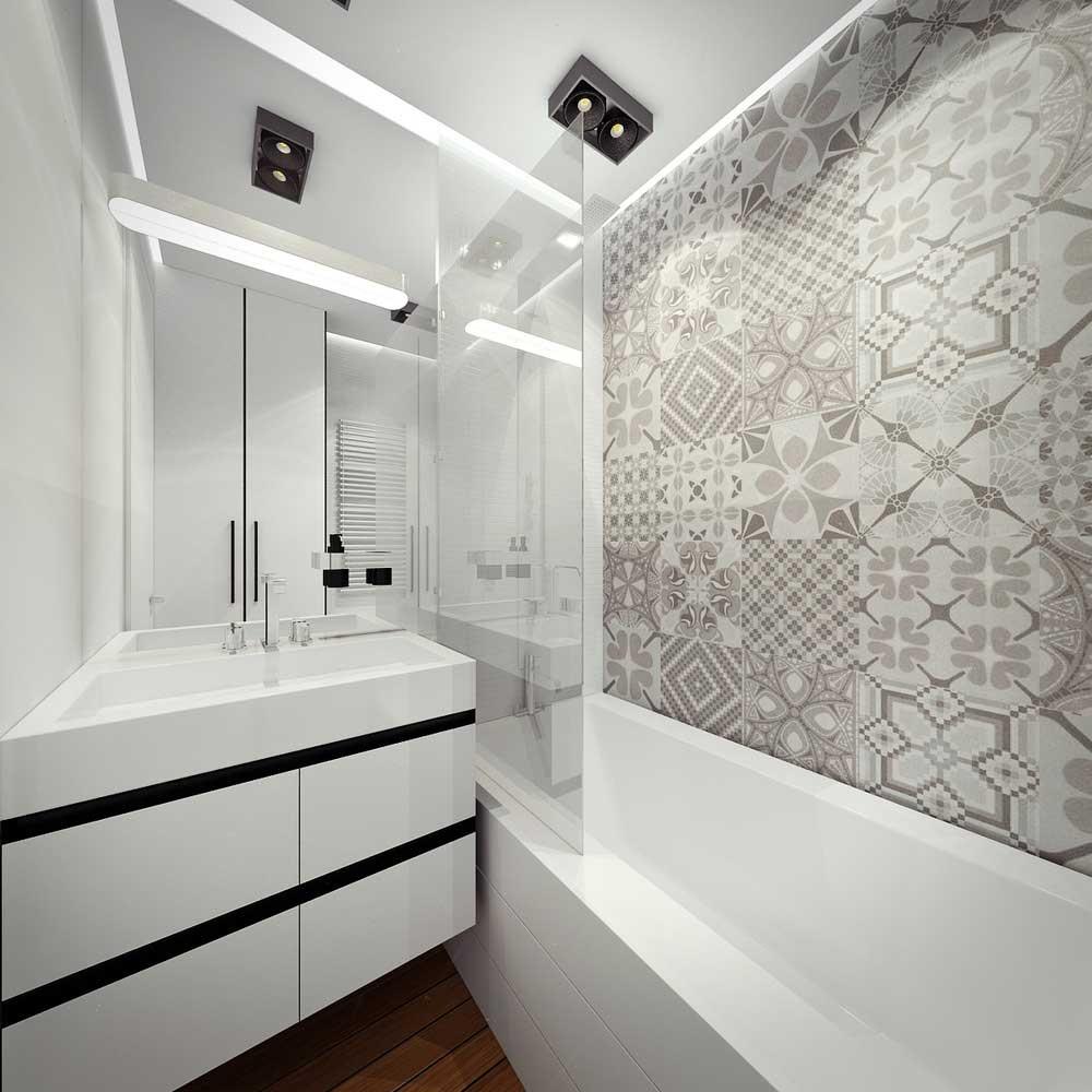 Дизайн санузла в серых тонах