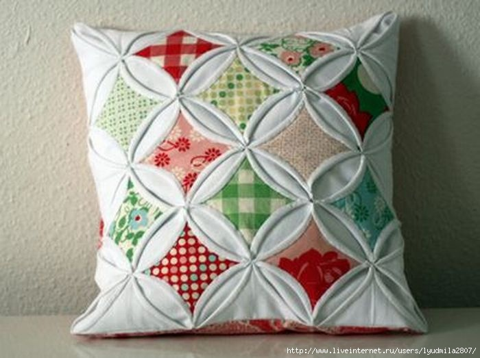 Рукоделие для дома своими руками.подушки