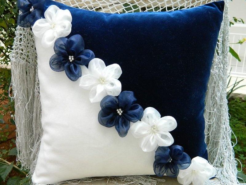 Как своими руками сделать декоративные подушки своими руками