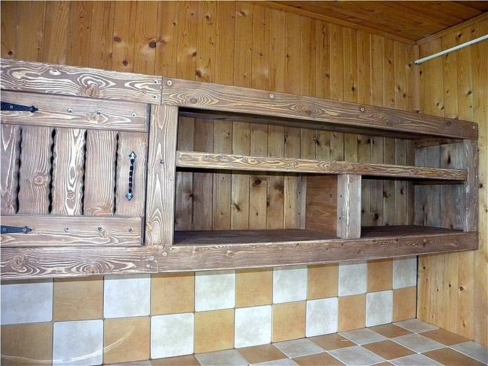 Мебель для кухни из доски своими руками