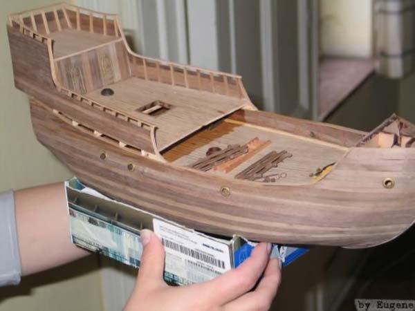 Из чего сделать макет корабля своими руками