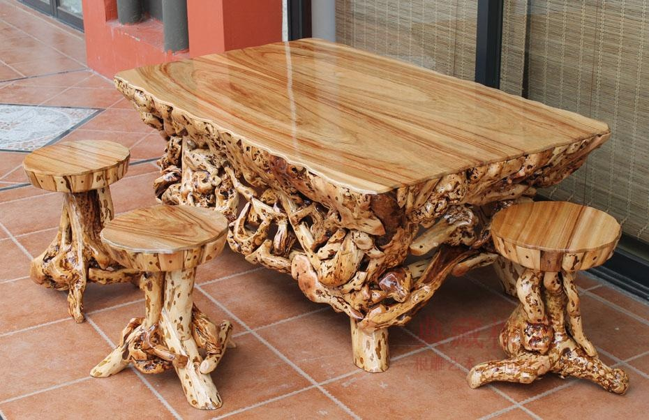 Картинки стол из дерева