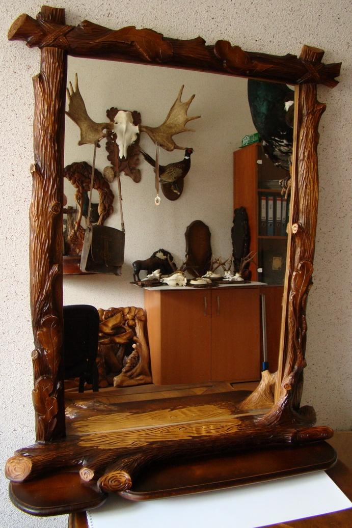 Полка под зеркало из дерева своими руками