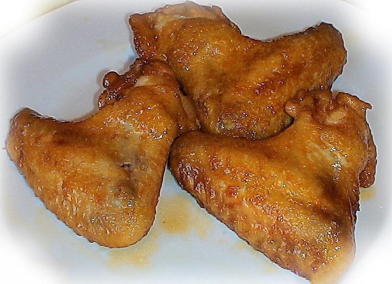 Куриные крылышки в медовом соусе пошаговый рецепт с фото