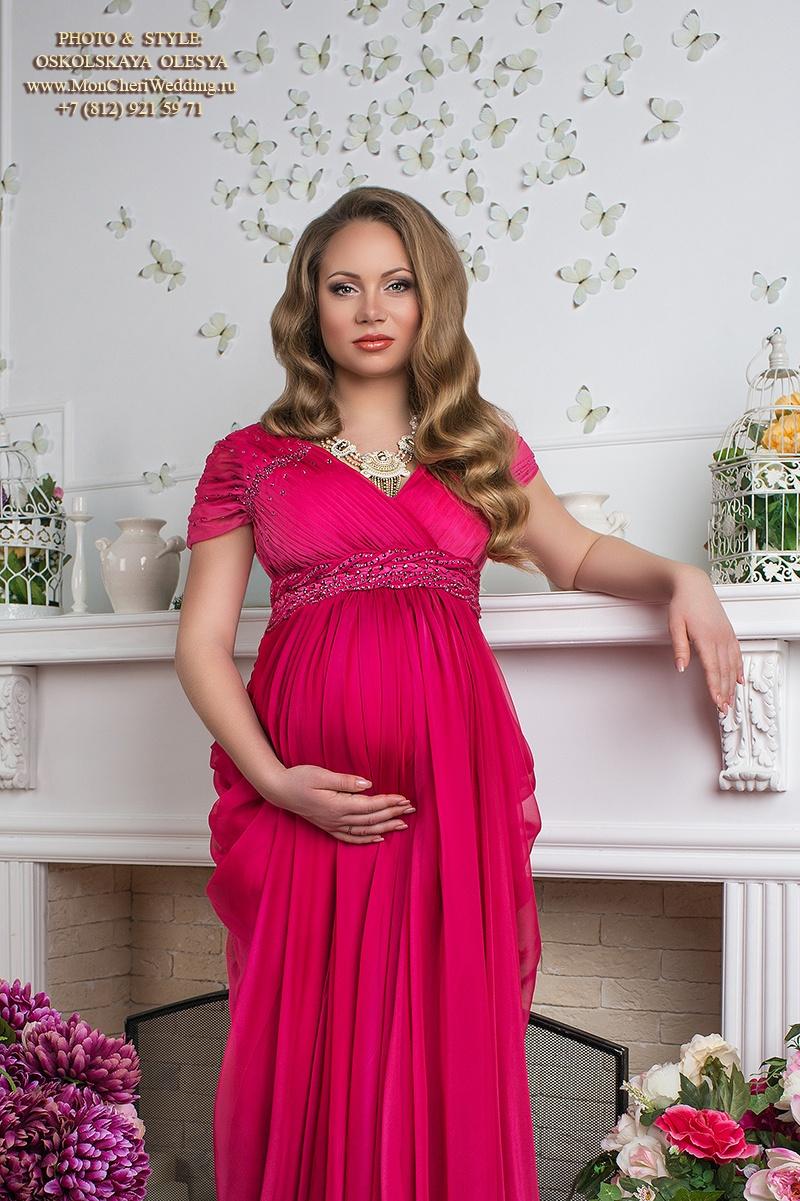 Прическа для беременной