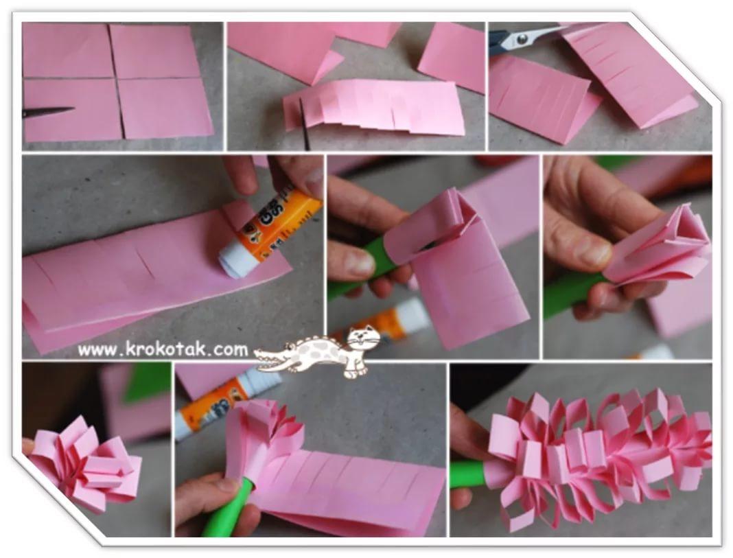 Подарок маме своими руками из бумаги легкие
