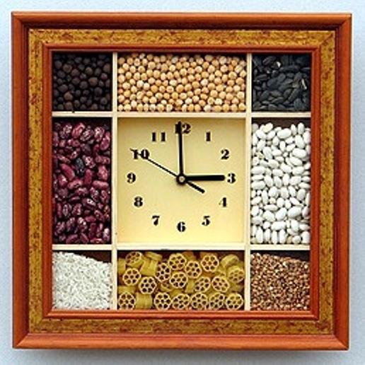 Сделать своими руками часы настенные