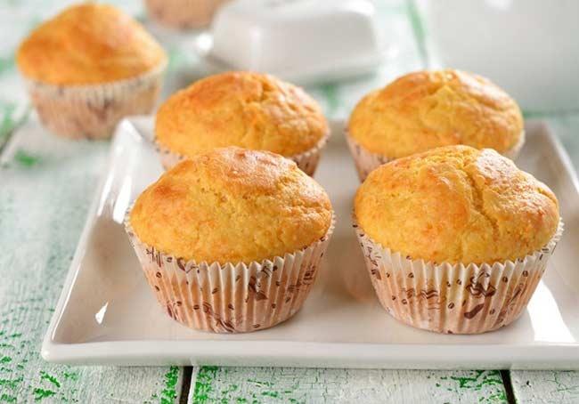 Кексы рецепты простые в формочках пошагово на кефире