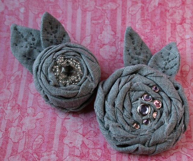 Цветы броши из ткани мастер класс цветы из ткани своими руками