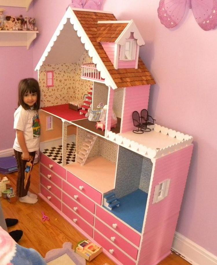 Своими руками большой кукольный дом