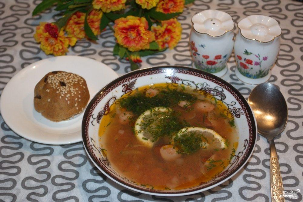 Сборная солянка с колбасой рецепт с фото пошагово
