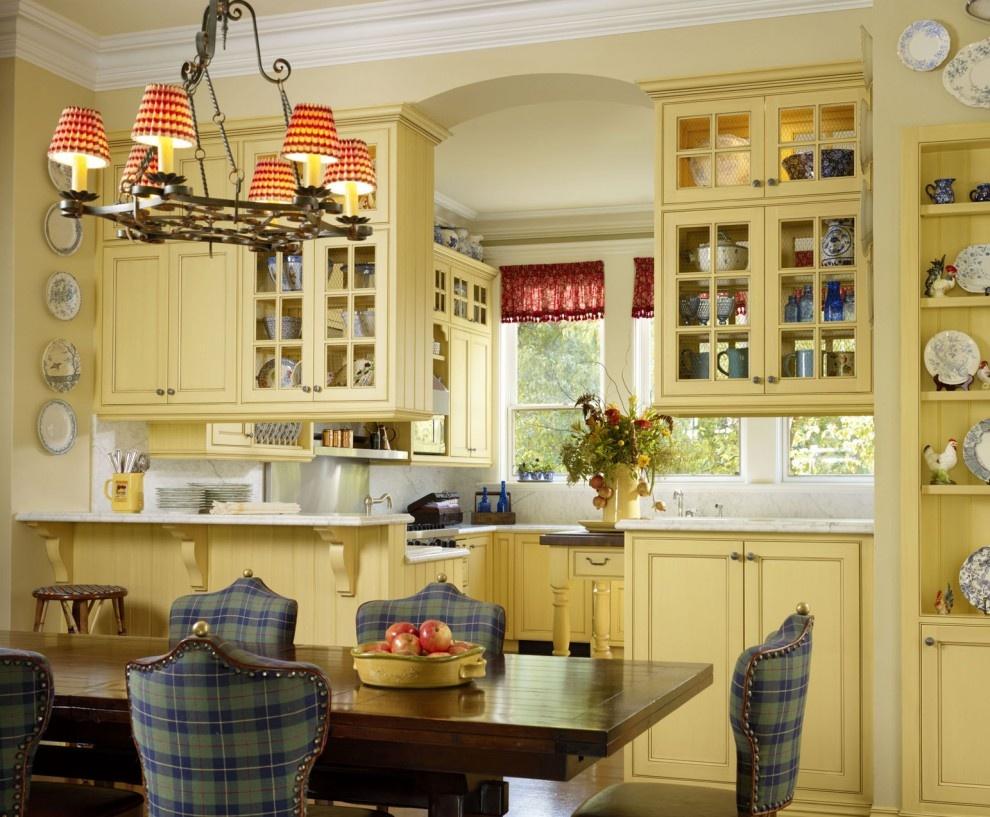 Дизайн кухонь в прованс стиле