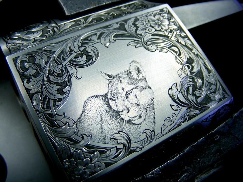 Гравировка на металле лазером