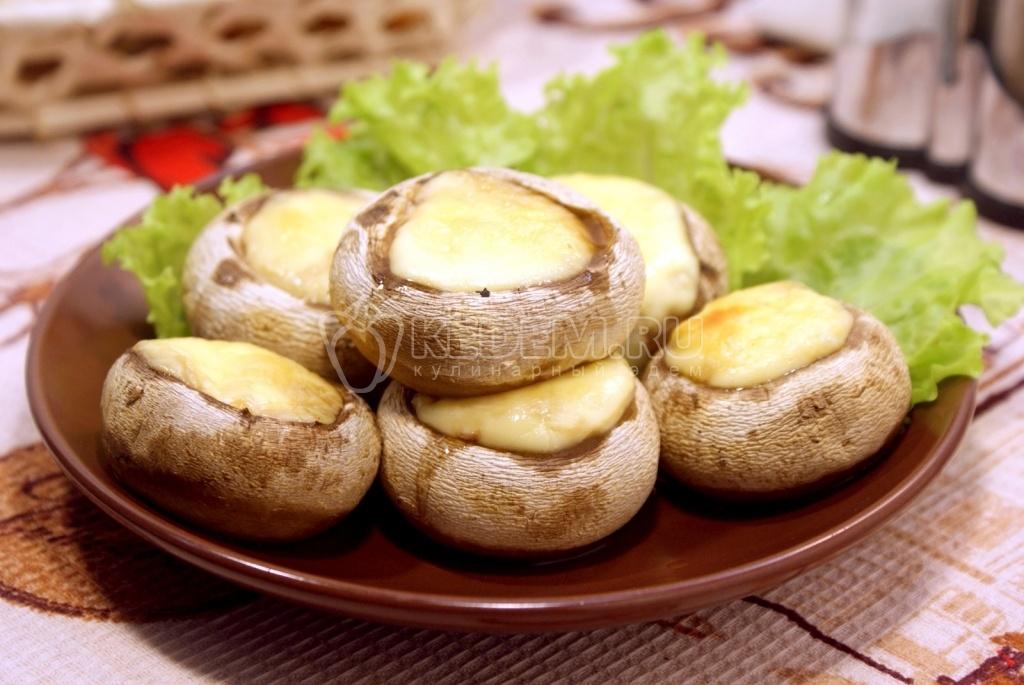 Шампиньоны запеченные с сыром рецепт пошаговый