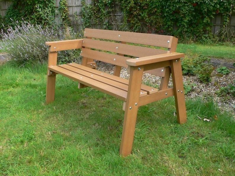 Изготовить скамейку из дерева