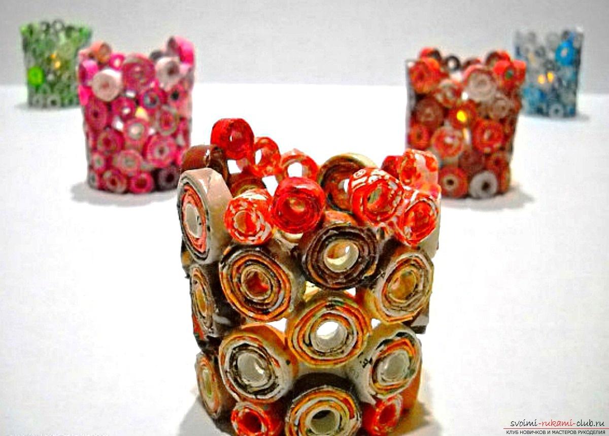 Поделки из фантиков из конфетных фантиков