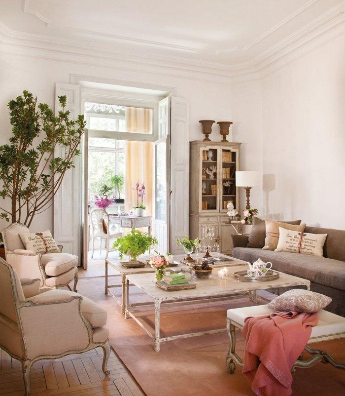 Дизайн квартиры в винтажном стиле