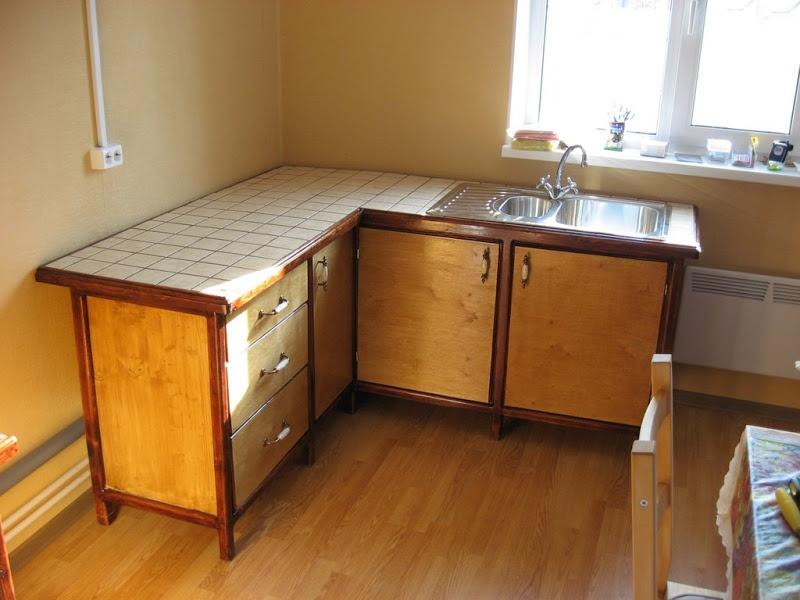 Как на даче сделать кухонный гарнитур