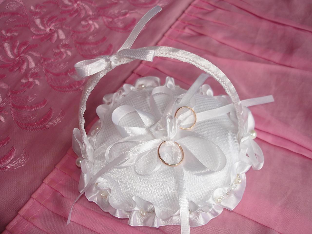 Подушечки своими руками свадебный