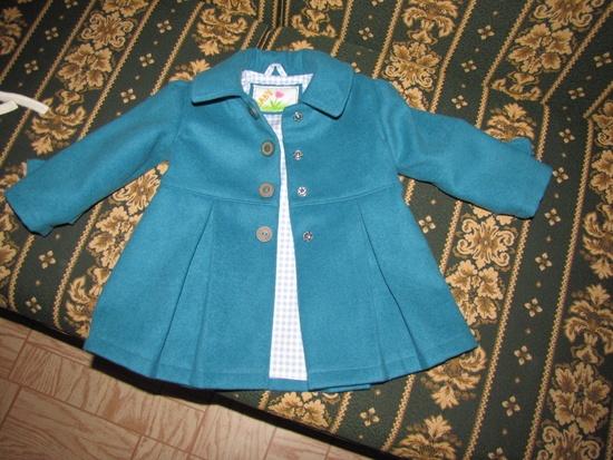 Сшить детское пальто своими руками