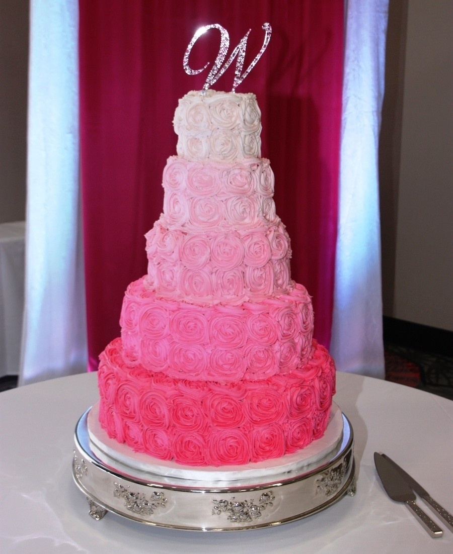 Торт розовая свадьба фото