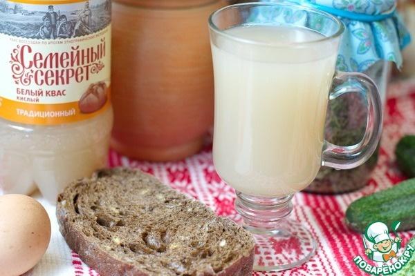 Хлебный квас в домашних условиях из белого хлеба