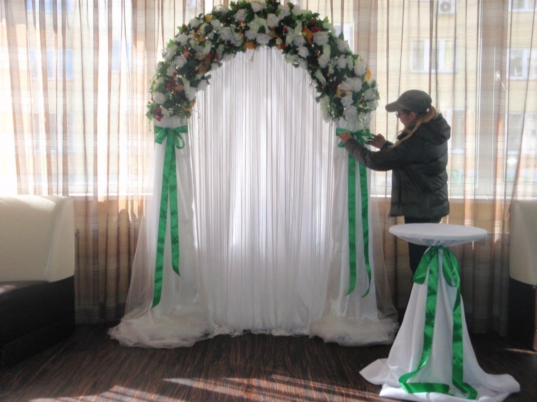 С чего сделать арку для свадьбы своими руками