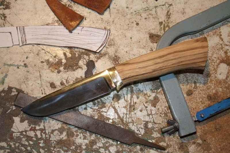 Какой лучше сделать нож своими руками