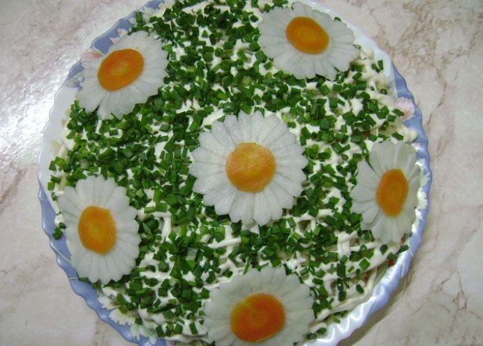 Новые салаты к дню рождения с