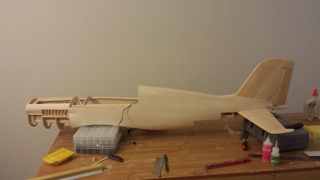 Модели самолётов из дерева