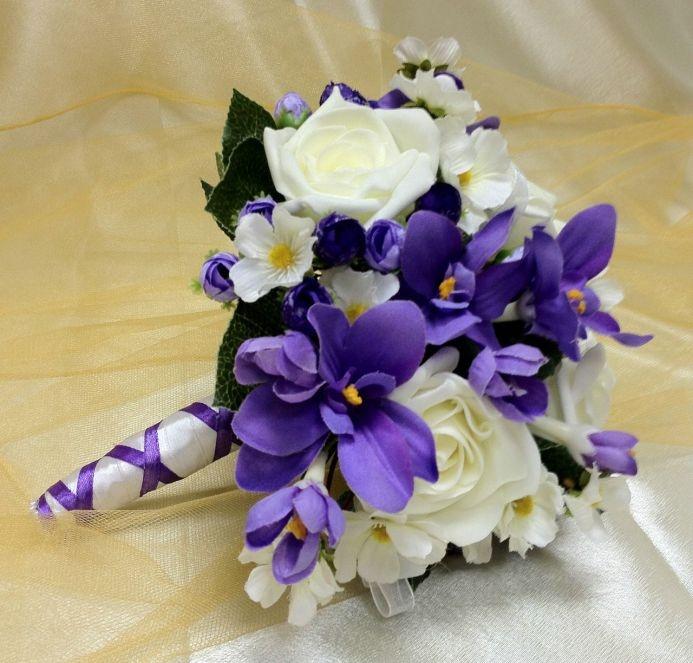 Букет невесты дублер из искусственных цветов