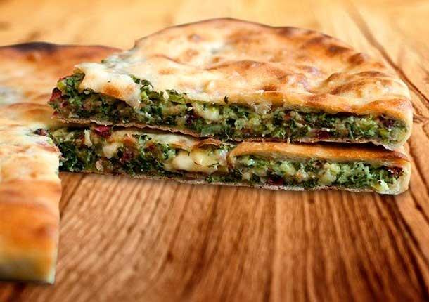 Осетинский пирог с сыром рецепт с фото пошагово в духовке