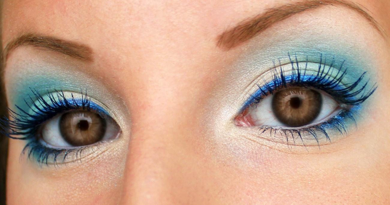 Макияж на выпускной для голубых глаз