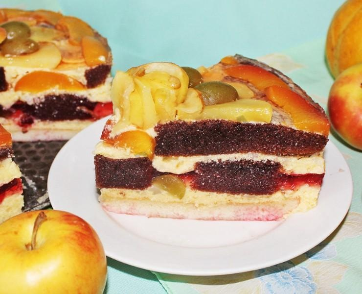 Рецепты фруктовые торты пошагово