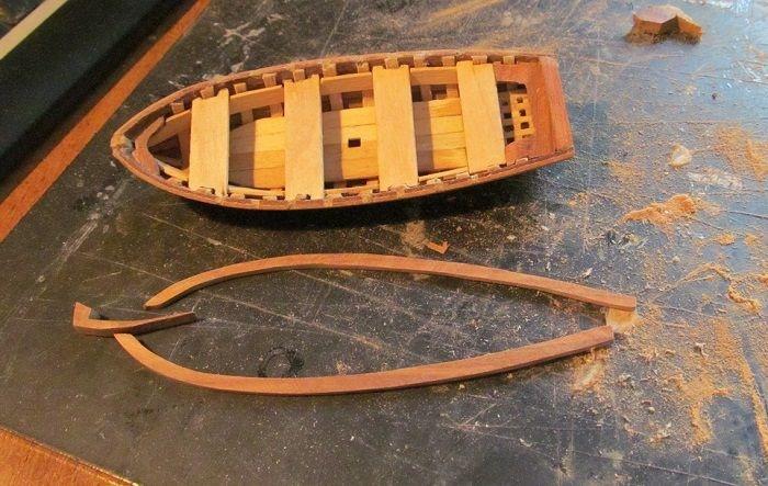 Кораблик из дерева своими руками фото