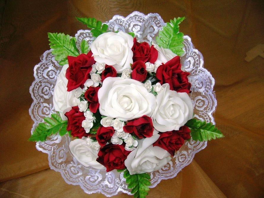 Свадебные букеты для невесты своими руками фото