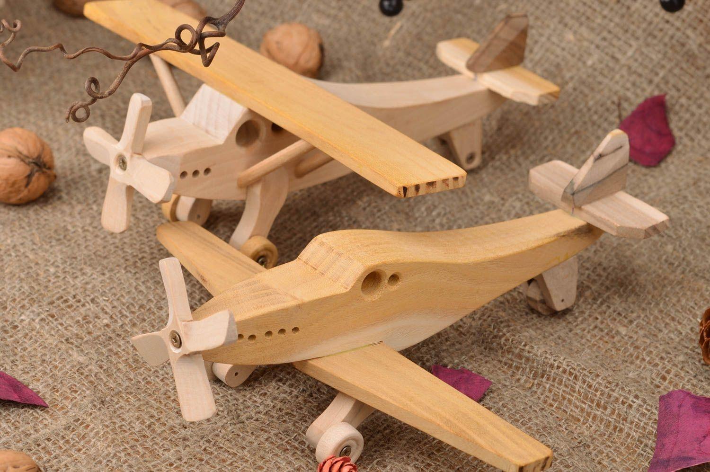 Как сделать из дерева самолеты