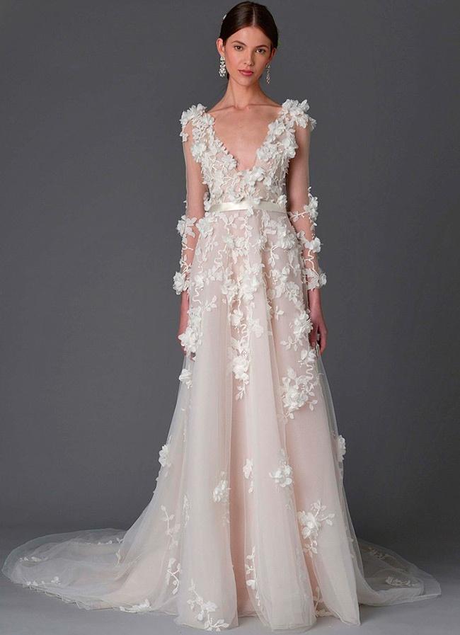 Элегантные свадебные платья 2017