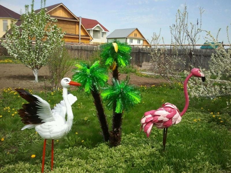 Поделки своими руками для сада и как их сделать