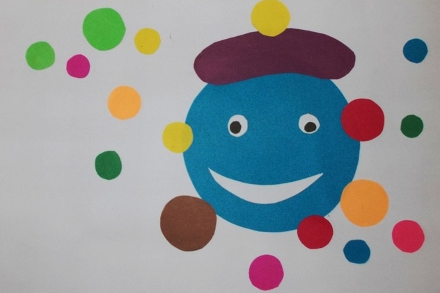 Поделки из цветной бумаги для детей 3-4 лет