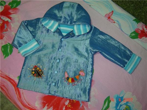 Куртка на ребенка своими руками
