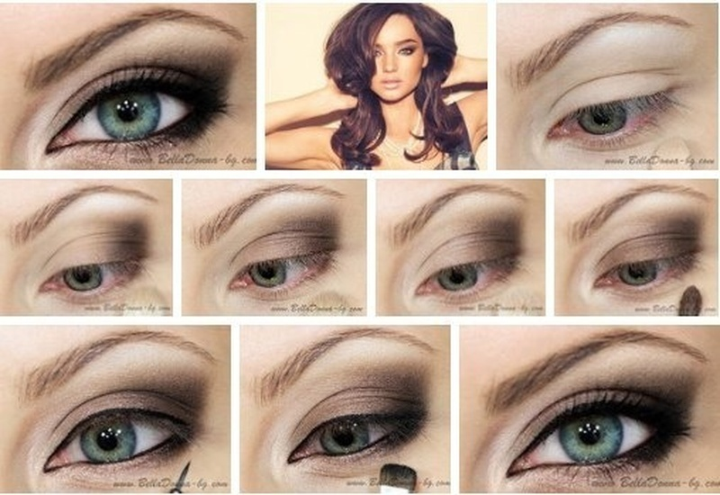 Как сделать макияж глаз на выпускной