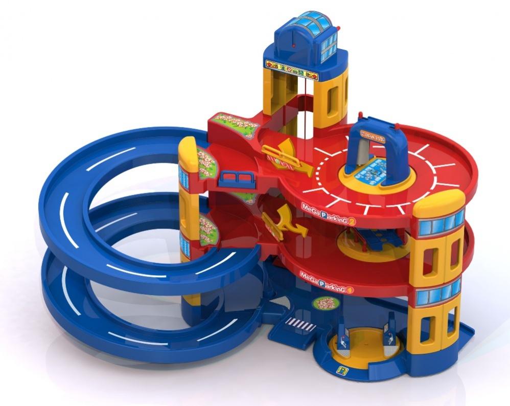 Гараж игрушка для мальчиков