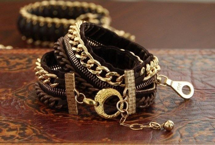 Своими руками стильные браслеты